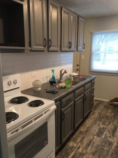 New kitchen looks great!